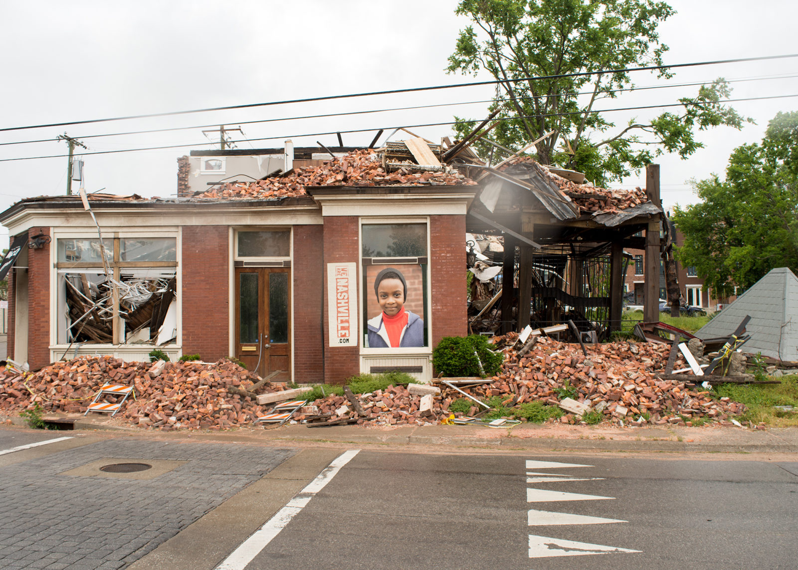 Tornado Recovery - North Nashville business