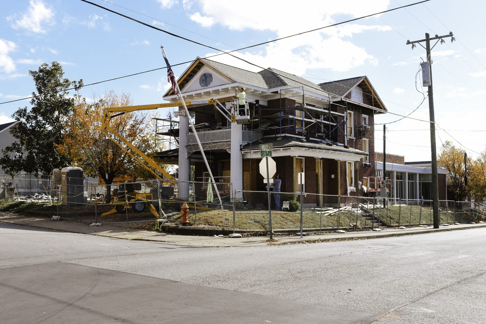 East Nashville Church - Rebuilding